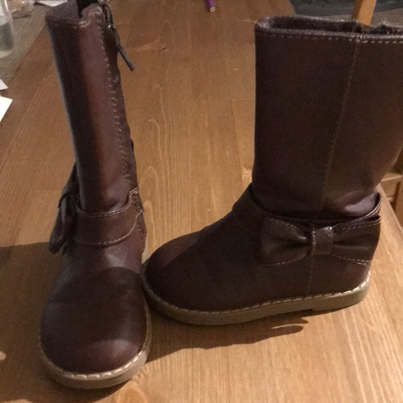 GAP Other - Brown toddler girl boots size 6